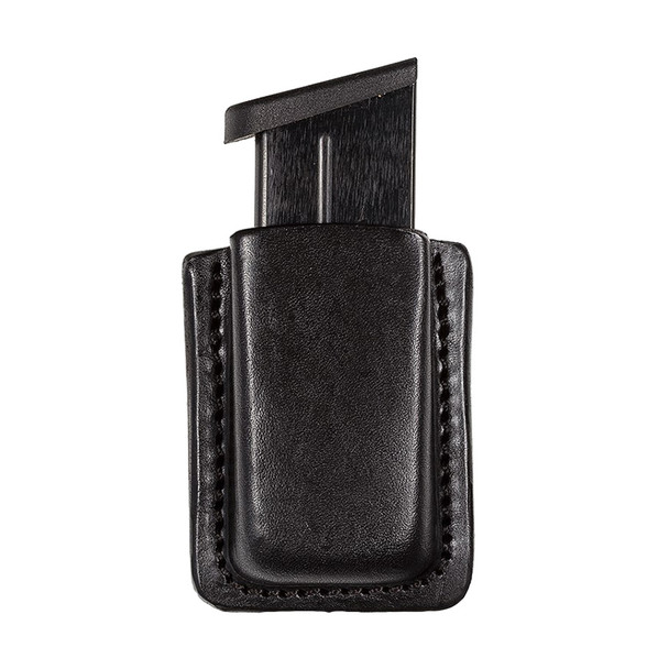 TAGUA GUN LEATHER Texas Clip On Single Ruger SR9/Most 9mm Black Magazine Carrier (TX-CO-MC5-016)
