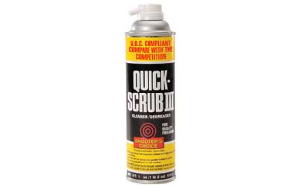 SHOOTERS CHOICE Quik Scrub III 15oz Aerosol Can (CDG315)