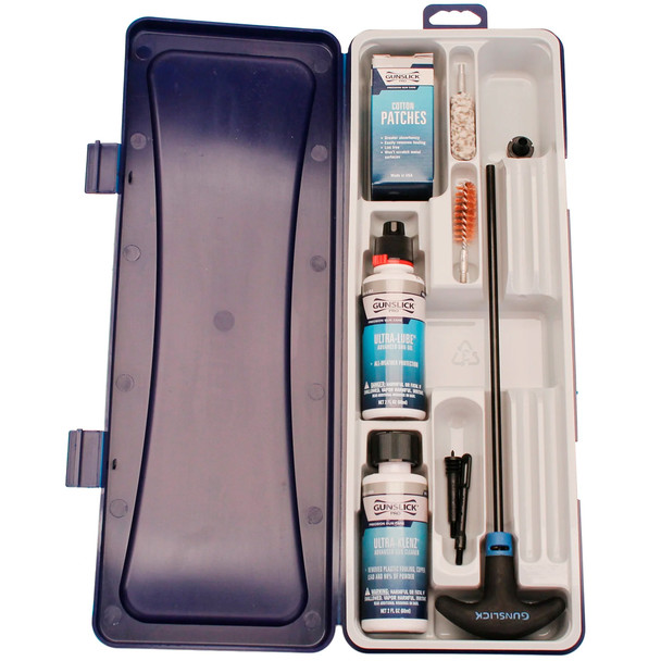 GUNSLICK 40-45/10mm 8-32 Pistol Storage Box Ultra Cleaning Kit (62018)
