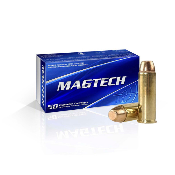 MAGTECH 44 Rem. Mag 240 Grain FMJ Flat Ammo, 50 Round Box (44C)