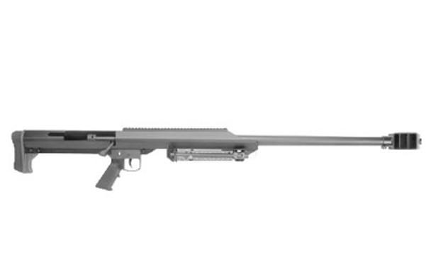 BARRETT Model 99 50 BMG 32in Heavy Barrel Single Shot Black Rifle with Bipod (13307)