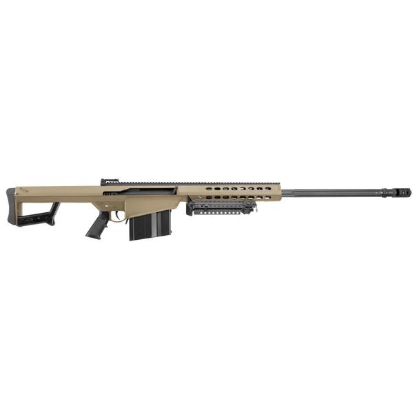 BARRETT M82A1 50 BMG 29in Fluted Barrel 10rd Flat Dark Earth Cerakote Rifle (14031)