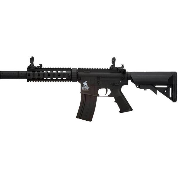 LANCER TACTICAL M4 SD GEN 2 Polymer AEG Black Airsoft Rifle (LT-15B-G2)
