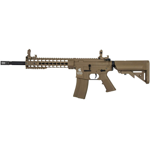 LANCER TACTICAL G2 Airsoft M4 Carbine 10in Low FPS Tan AEG Rifle (LT-19TL-G2)
