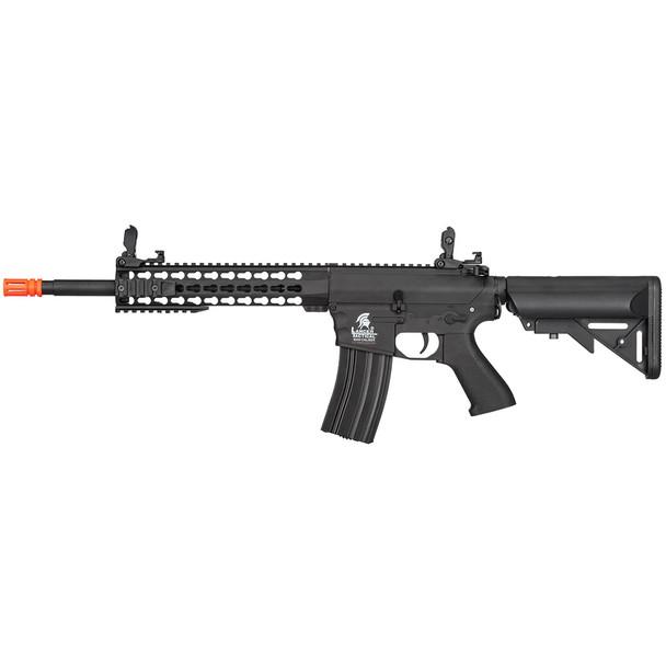 LANCER TACTICAL M4 KeyMod Gen 2 EVO AEG Black Airsoft Rifle (LT-12BK-G2)