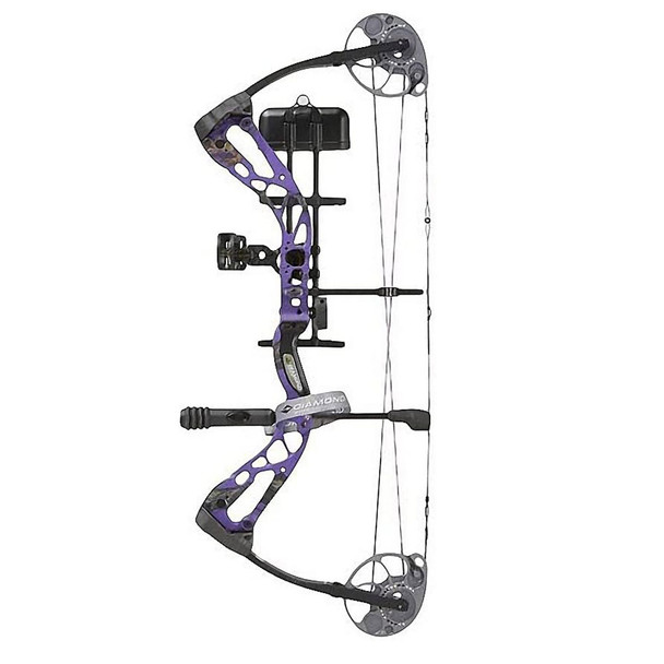 DIAMOND ARCHERY Edge SB-1 7-70lb LH Purple Blaze Compound Bow (A12701)