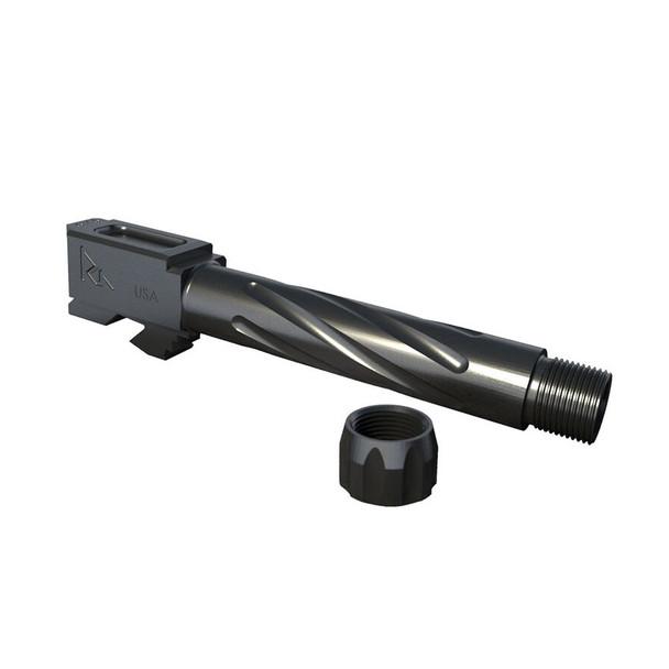 RIVAL ARMS Glock 19 Gen 3/4 Graphite Threaded Barrel (RA20G202B)