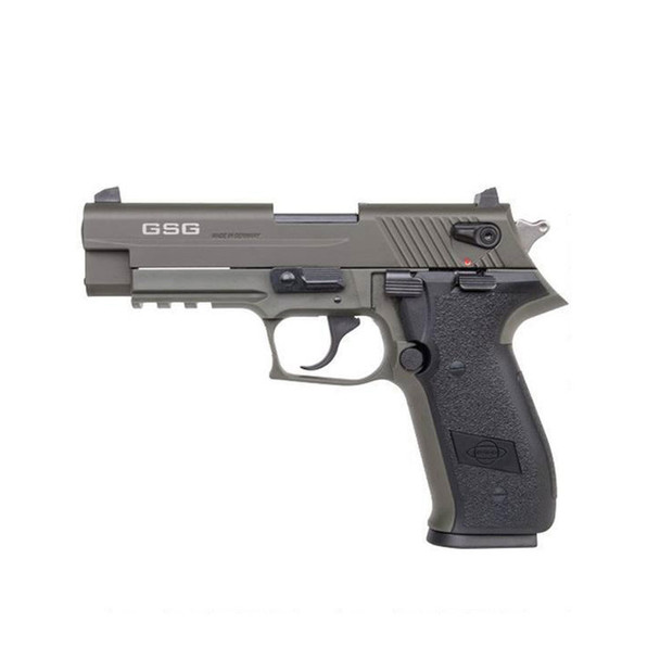 AMERICAN TACTICAL IMPORTS GSG Firefly HGA .22LR 4in 10rd Green Semi-Automatic Pistol (GERG2210FFG)