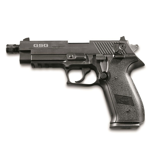 AMERICAN TACTICAL IMPORTS GSG Firefly HGA .22LR 4.9in 10rd Black Semi-Automatic Pistol (GERG2210TFF)