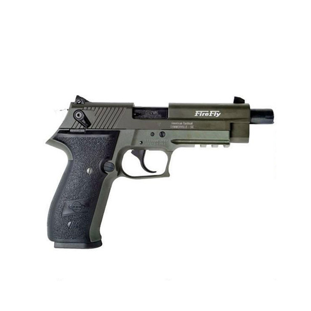 AMERICAN TACTICAL IMPORTS GSG Firefly HGA .22LR 4.9in 10rd Green Semi-Automatic Pistol (GERG2210TFFG)