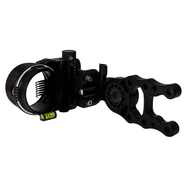 AXCEL ARCHERY ArmorTech HD 7-Pin .010 Black Sight (AXAT-D710-BK)