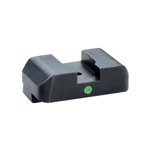 AMERIGLO I-Dot Glock 42/43 Green Tritium Single Dot No Outline Rear Sight (GL-101R)