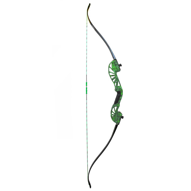 AMS BOWFISHING Water Moc 45# Right Hand Take Down Recurve Bow Only (B700-MOC-RH)