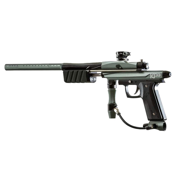 AZODIN KP3 Titanium/Black Pump Paintball Marker (KP3TITBLA)