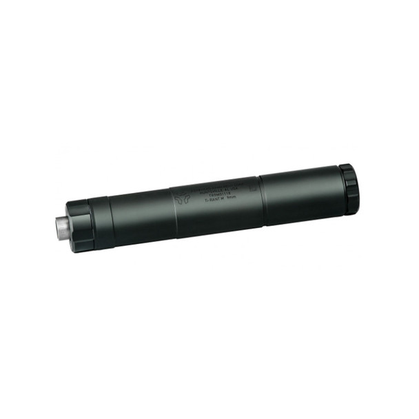 AAC Ti-Rant 9M Modular 9mm Pistol Suppressor with 1/2x28 and M13.5x1LH Pistons, NFA Item (64285-NFA)