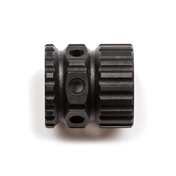 2A ARMAMENT Aluminum Black Barrel Nut (2A-ALBN-1)