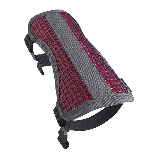 ALLEN COMPANY Medium 2 Strap Mesh Gray/Hot Pink Archery Armguard (42017)