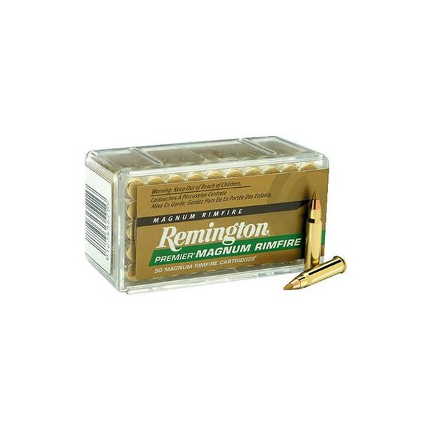 REMINGTON Premier 17 HMR 17 Grain AccuTip-V BT Ammo, 50 Round Box (PR17HM1)