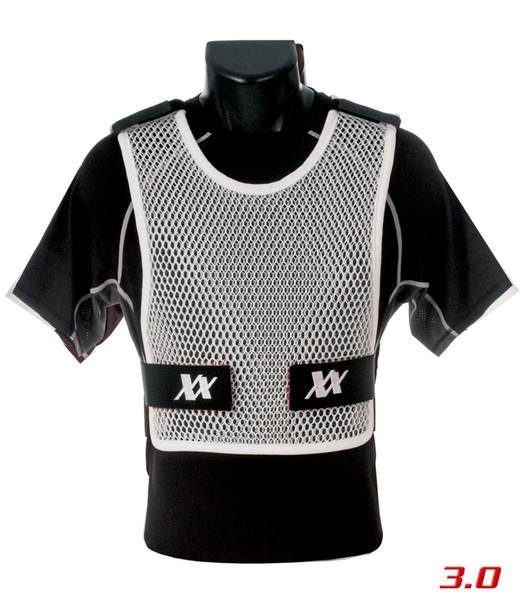 221B TACTICAL Maxx-Dri Body Armor Ventilation White Vest 3.0 (MDV3-WHT)