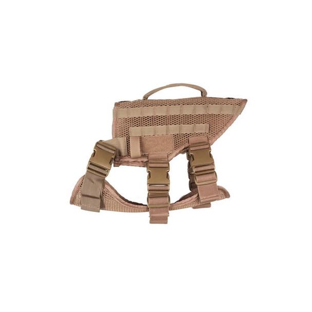 221B TACTICAL Noxx K-9 Desert Tan Harness (NOXXK9-DTT)