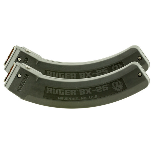 RUGER BX-25 Value Pack Two 10/22 25rd Magazines (90548)