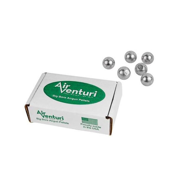 AIR VENTURI .50 Cal 177Gr 100ct Round Ball Pellets (AV50/495/RB)