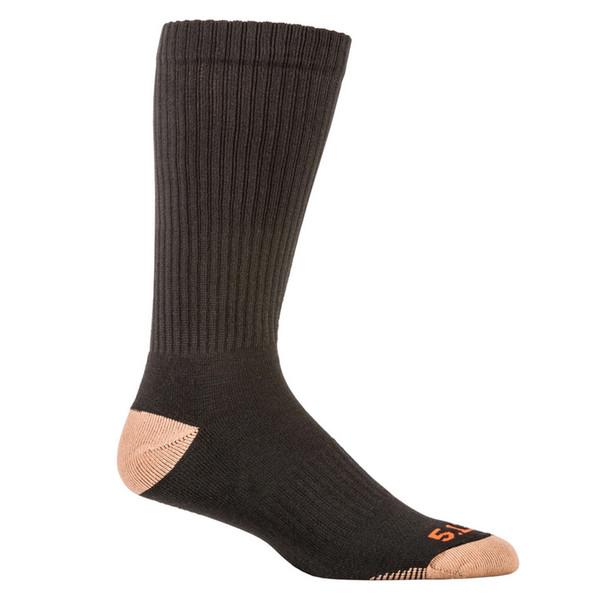 5.11 TACTICAL Cupron Black Crew Socks 3-Pack (10039-019)