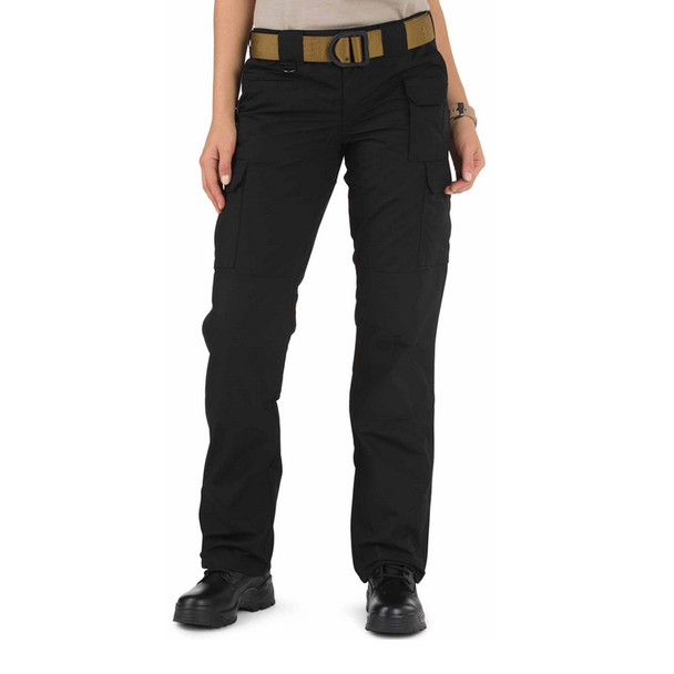 5.11 TACTICAL Womens Taclite Pro Black Pant (5-64360-019-BLACK-2-R)