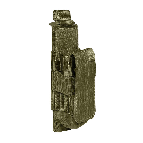 5.11 TACTICAL Tac OD Single Pistol Bungee/Cover Pouch (56154-188)