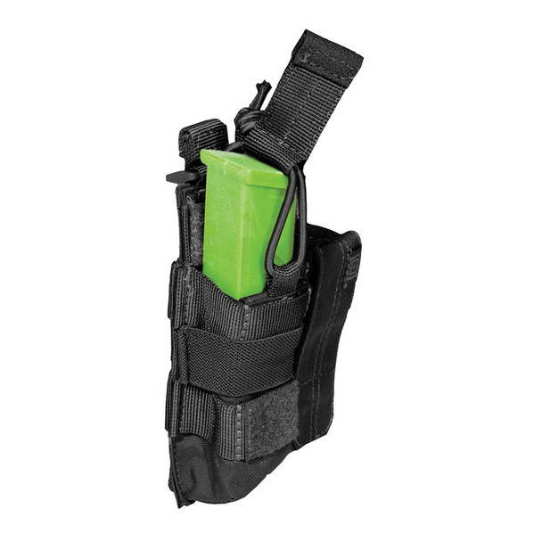 5.11 TACTICAL Black Double Pistol Bungee/Cover Pouch (56155-019)