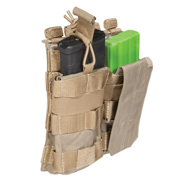 5.11 TACTICAL Sandstone AR Double Bungee/Cover Pouch (56157-328)