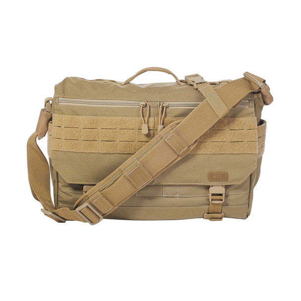 5.11 TACTICAL Rush Delivery Lima Sandstone Messenger Bag (56177-328)