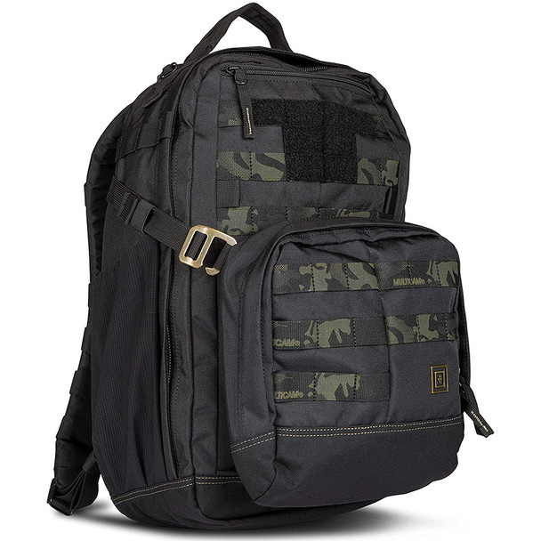 5.11 TACTICAL Mira 2-In-1 Stealth Black Pack (56338-266)