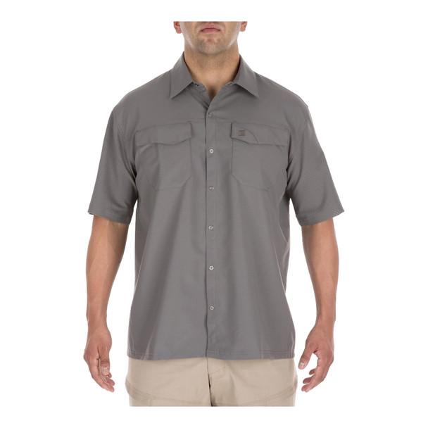 5.11 TACTICAL Freedom Flex Woven Short Sleeve Storm Shirt (71340-092)