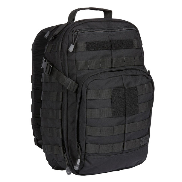 5.11 TACTICAL Rush 12 Black Backpack (56892-019)