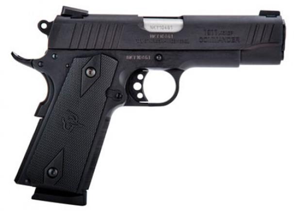 TAURUS 1911 Commander 45 ACP 4.2in 8rd Matte Black Pistol (1-191101COM)