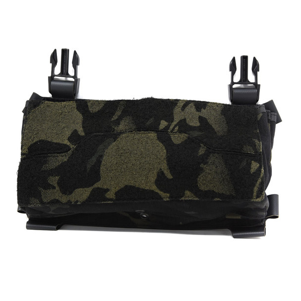 ACE LINK ARMOR Skeletac Double Stack Black Multicam Kanagaroo Pouch without Armor (SKLTC-DBLKNGROO-BMC)
