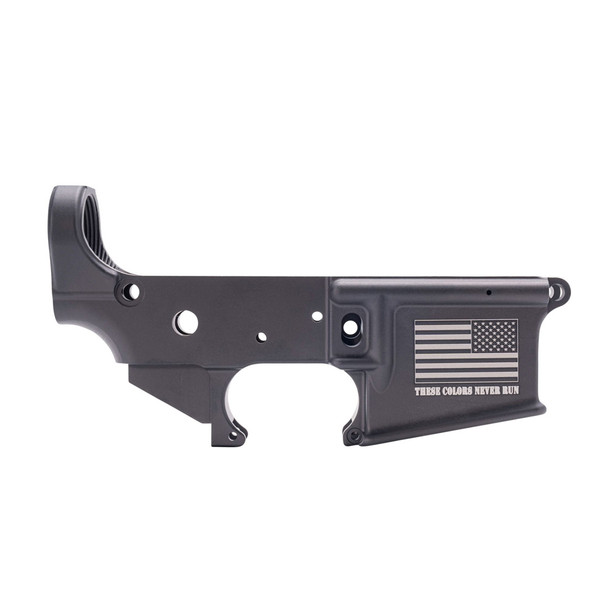 """ANDERSON AM-15 """"These Colors Never Run"""" Stripped Lower Receiver (D2-K067-A006)"""