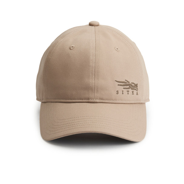 SITKA Badge Icon Lo Pro Strapback One Size Fits All Sandstone Cap (20200-SS-OSFA)