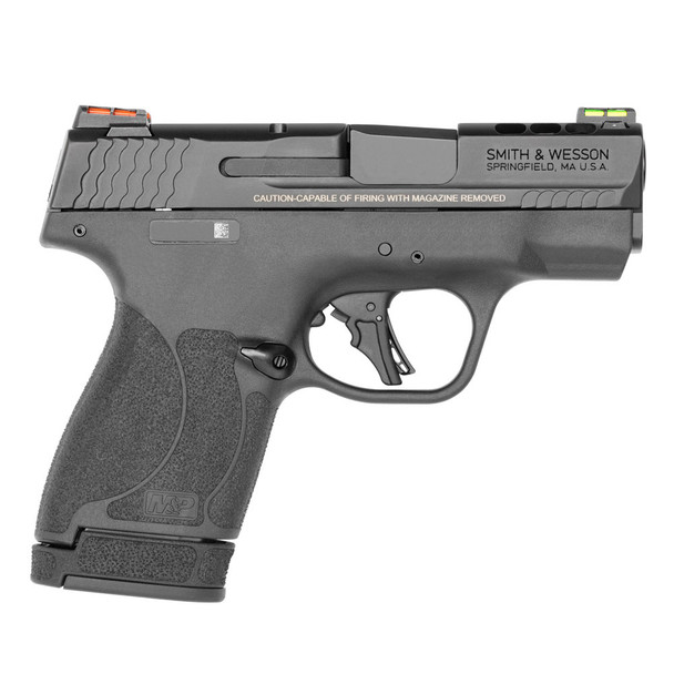 SMITH & WESSON Performance Center M&P 9 Shield Plus 9mm 3.1in 10/13rds Manual Thumb Safety Pistol (13254)