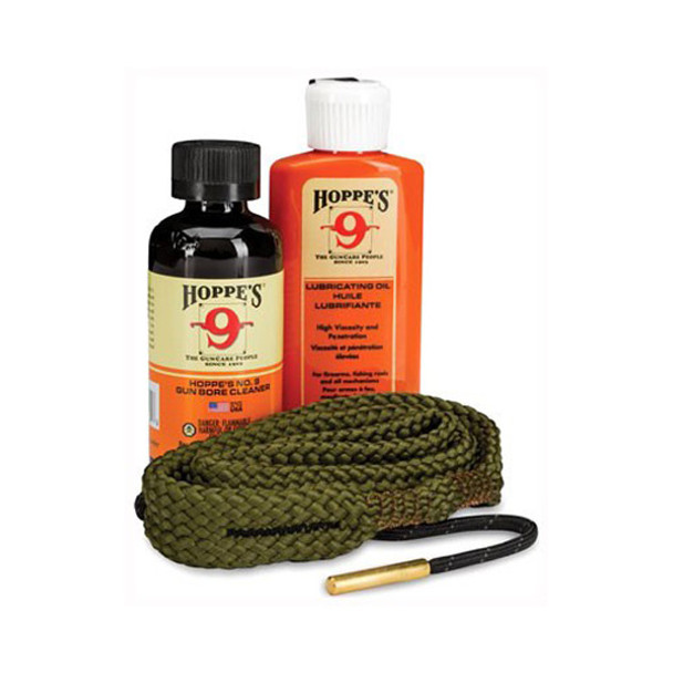 HOPPE'S 1-2-3 Done! 22 Caliber Pistol Cleaning Kit (110022)
