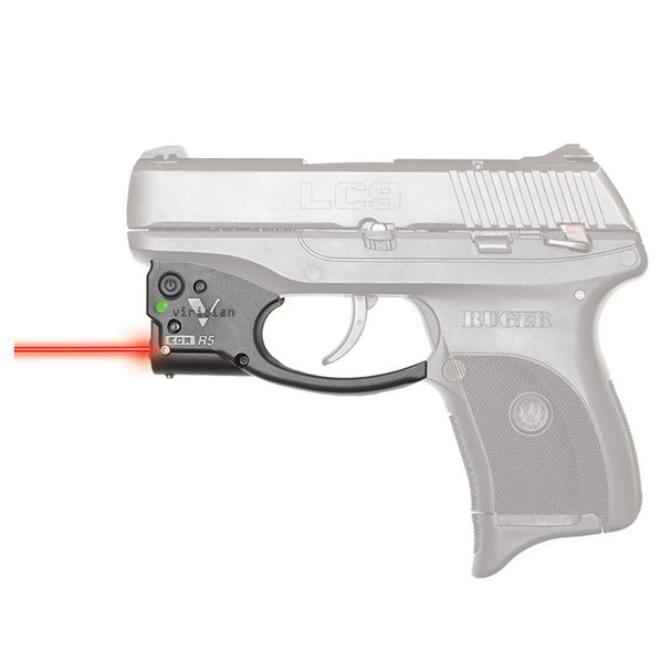 VIRIDIAN Reactor R5 Gen 2 Red Laser Sight for Ruger LC9/LC380/EC9s (R5-R-LC9)