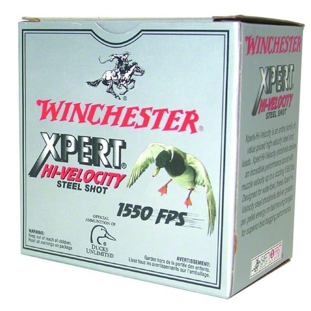 WINCHESTER Xpert HI-Velocity Steel 12Ga 2.75in #4 Shotshell Ammo 25 Round Box (WEX124)