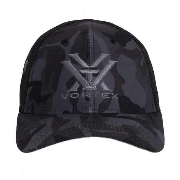 VORTEX Logo Black Camo Hat (121-53-BCA)