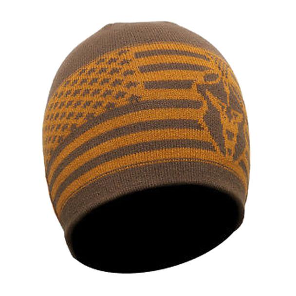 KRYPTEK Flag Brown Beanie (18FLABHBR)