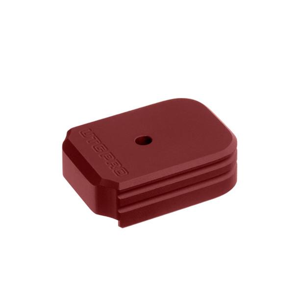 UTG PRO +0 Matte Red Aluminum Base Pad for SIG P320 9/40 (PUBSG01R)