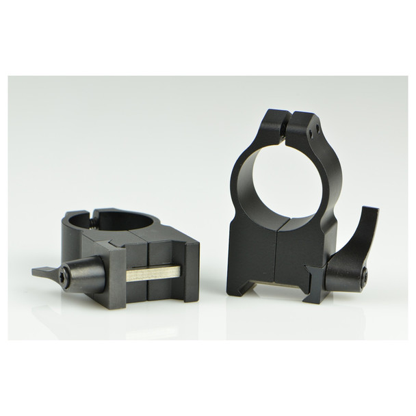 WARNE Maxima 1in Quick Detach Extra High Matte Rings (203LM)