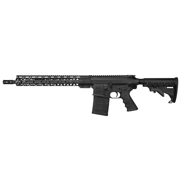 WINDHAM WEAPONRY SRC 308 Win 18in 20rd 6 Position Stock Rifle with Hard Plastic Gun Case (R18FSFST308)