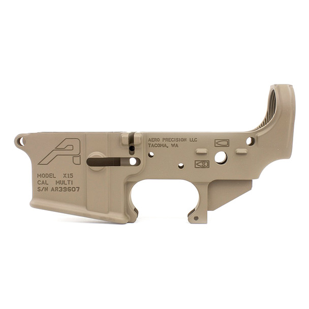 AERO PRECISION Gen 2 Stripped AR15 FDE Cerakote Lower Receiver (APAR501302)