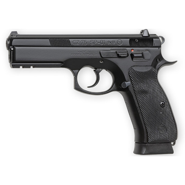 CZ 75 SP-01 9mm 4.61in 18rd Semi-Automatic Pistol (91152)